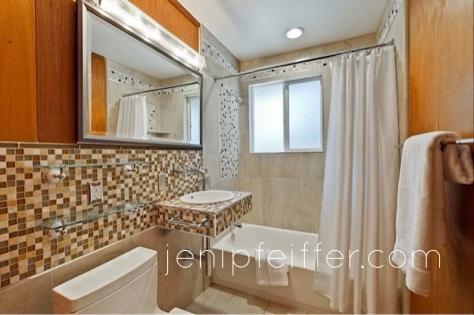 Stylish Remodeled Bathroom_Courtesy Jeni Pfeiffer